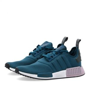NWT adidas NMD_R1 Teal Running Workout Shoes